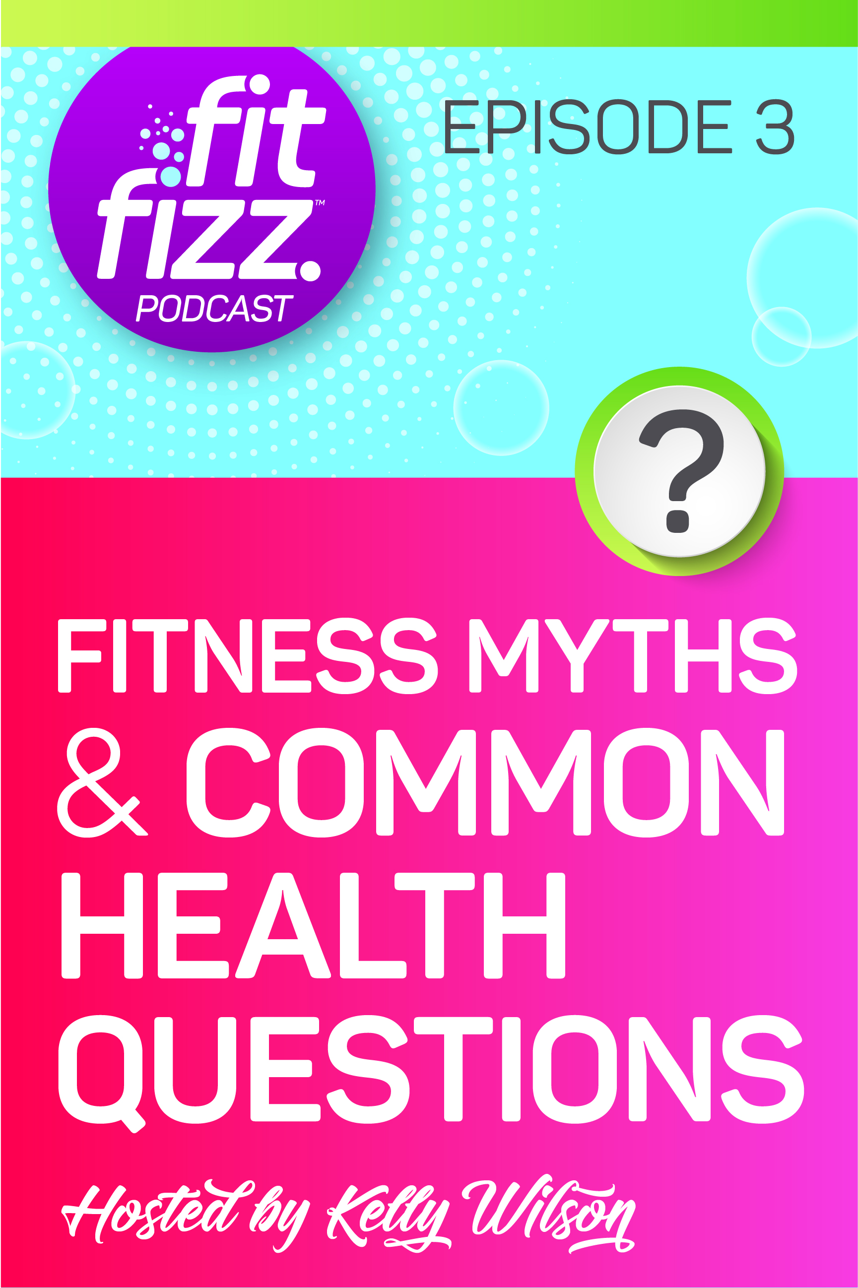 Podcast Episode 3, Fitness Myths and Common Health Questions. Are carbs bad? Which running shoes are best? How much water should I drink? Find out all of the answers and more on this episode of the FitFizz Podcast. #fitness #water #carbs #health #fitfizz