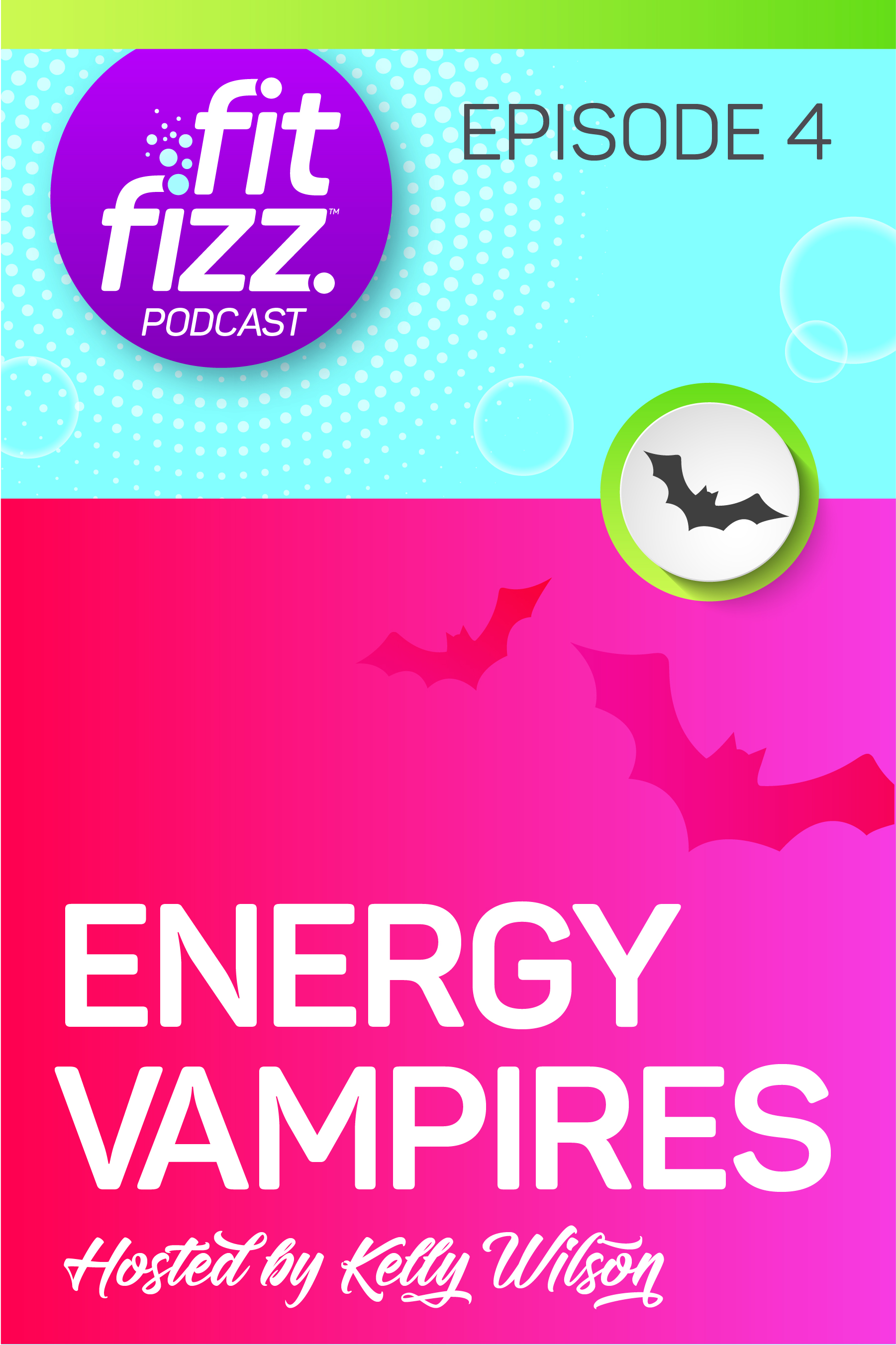 Energy vampires — what they are, how to find them, and how to get rid of them.   This episode: • Introverts, extroverts, and empaths • Impacts of chronic illnesses and autoimmune issues on your energy • Different types of energy vampires • Boundaries Kelly has set surrounding her energy vampires • Reassessing the boundaries set with the people in your life • What to do if you've been struck by an energy vampire • What to do if you are YOUR OWN energy vampire