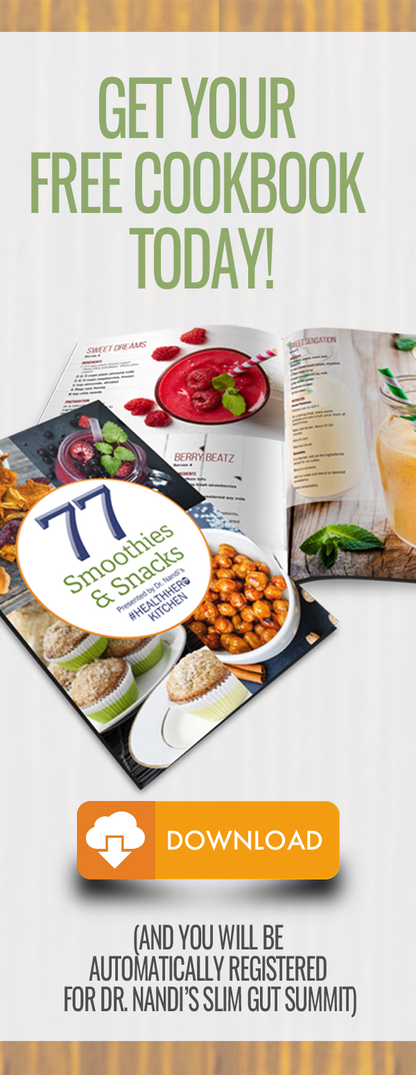 Free cookbook by signing up for the Slim Gut Summit!