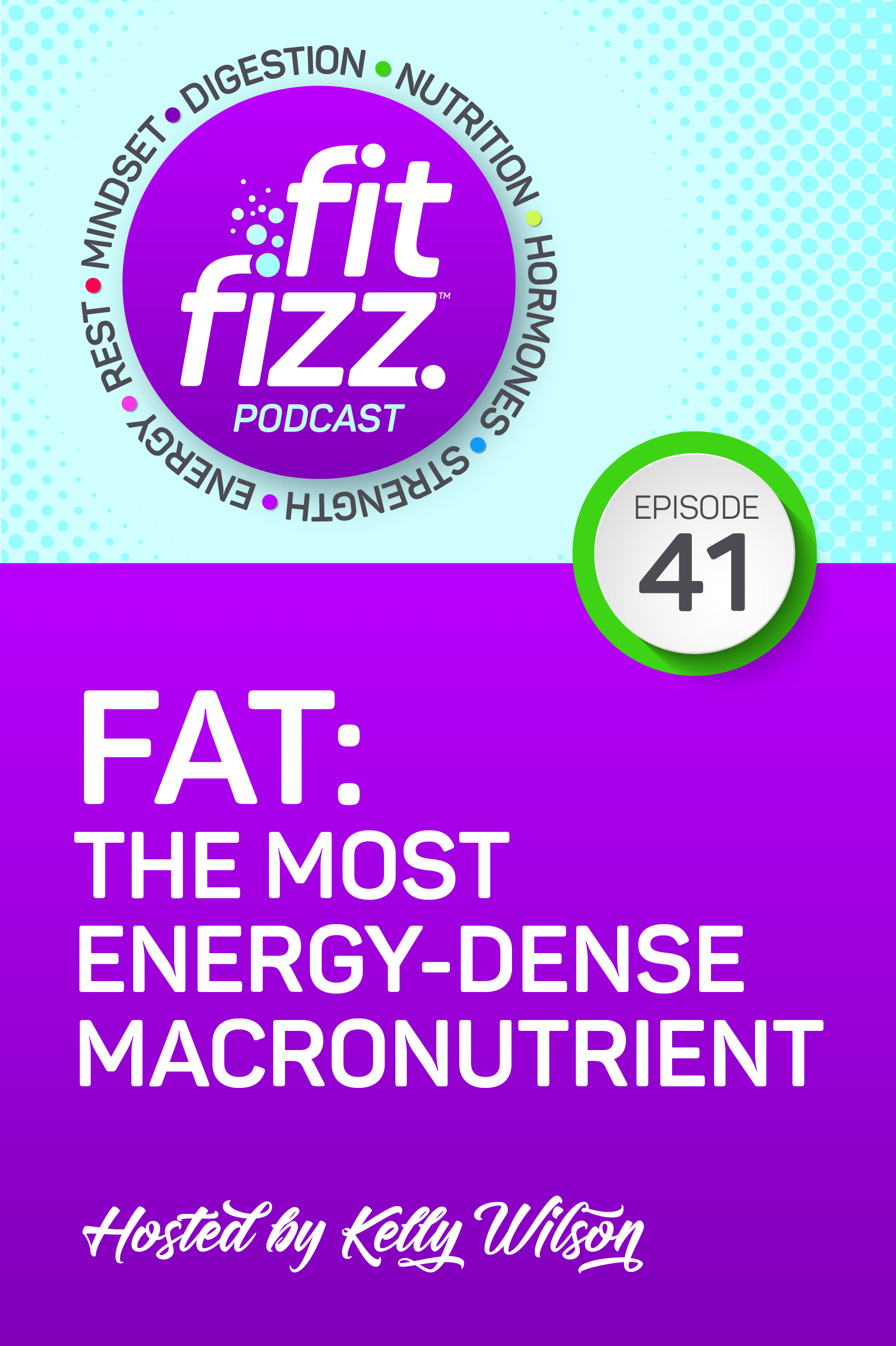 EP 41: Fat: The Most Energy-Dense Macronutrient We\'ve been talking about macronutrients, carbs, protein, and last but not least — today is all about the macro which is fat. And I say it\'s not least because both carbs and protein each have 4 calories per gram, and fats contain 9 calories per gram. And that\'s not a bad thing. It can really work to your advantage once you learn about how macros work.