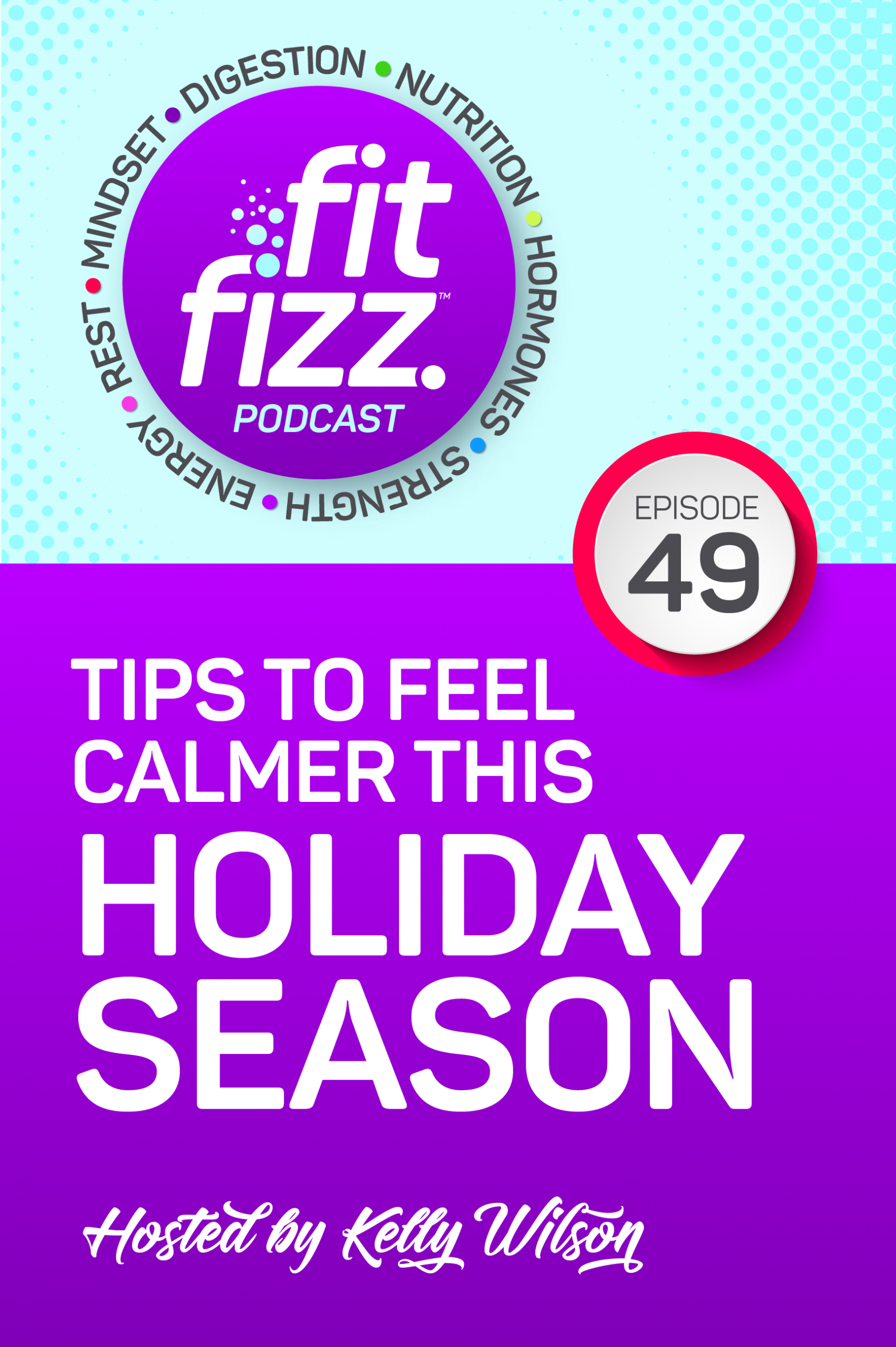 EP49: Tips To Feel Calmer This Holiday Season  · how hunger hormones play a role in stress · the importance of B-12, folate, and magnesium · using magnesium as a supplement · how protein can stabilize your mood · why using sugar for energy isn\'t the best idea · setting boundaries · self-kindness and inflammation · how to choose between sleep and gym time   Rest, boundaries and nutrients can be your superpowers for any time that life gets extra busy.
