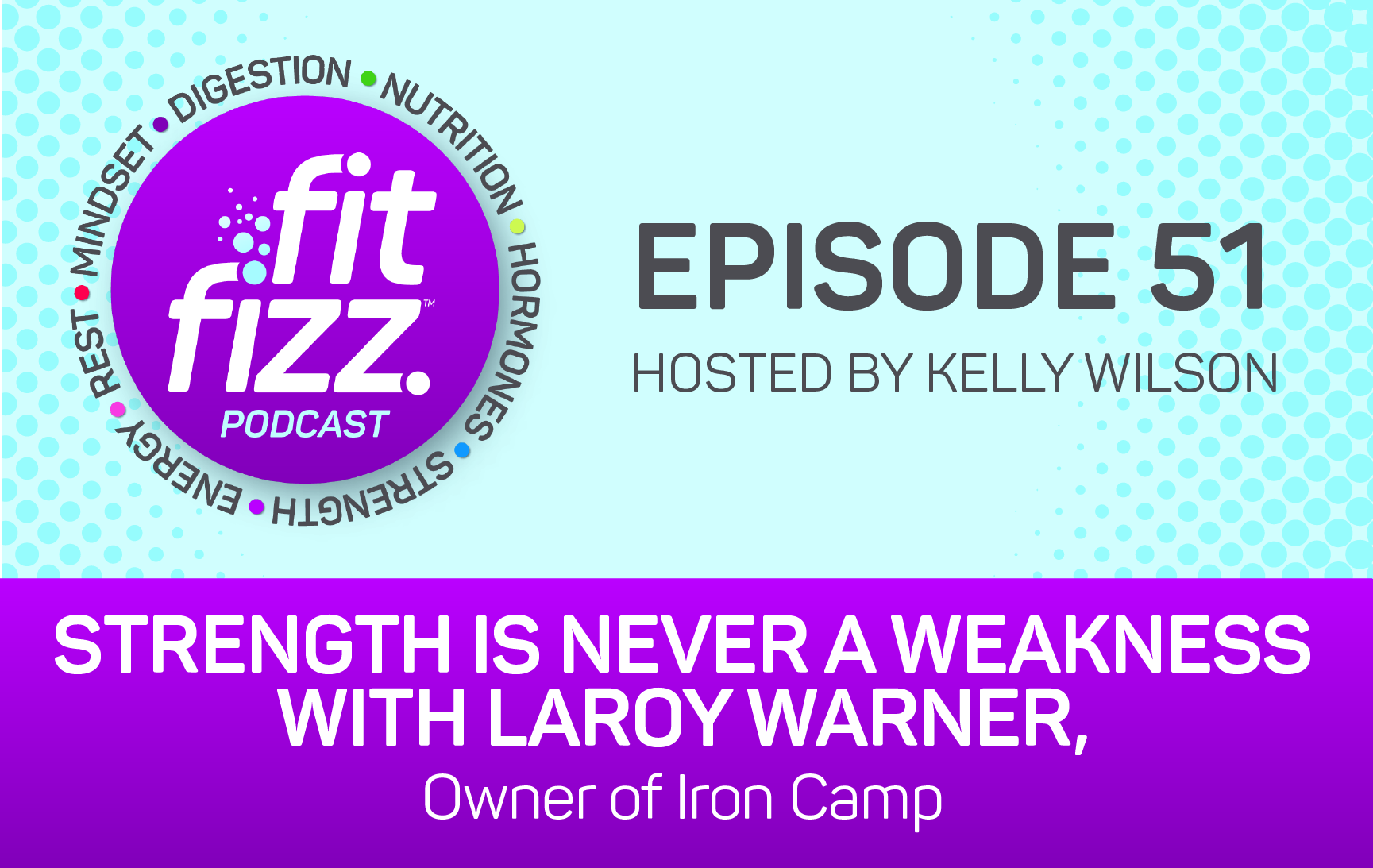 Ep. 51: Strength is Never a Weakness with LaRoy Warner, Owner of Iron Camp