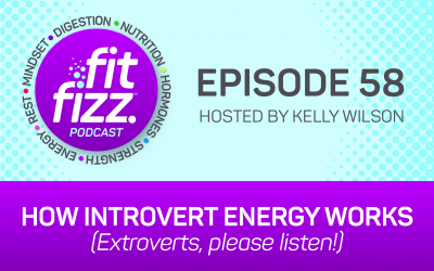 Ep. 58: How Introvert Energy Works (Extroverts, please listen!)