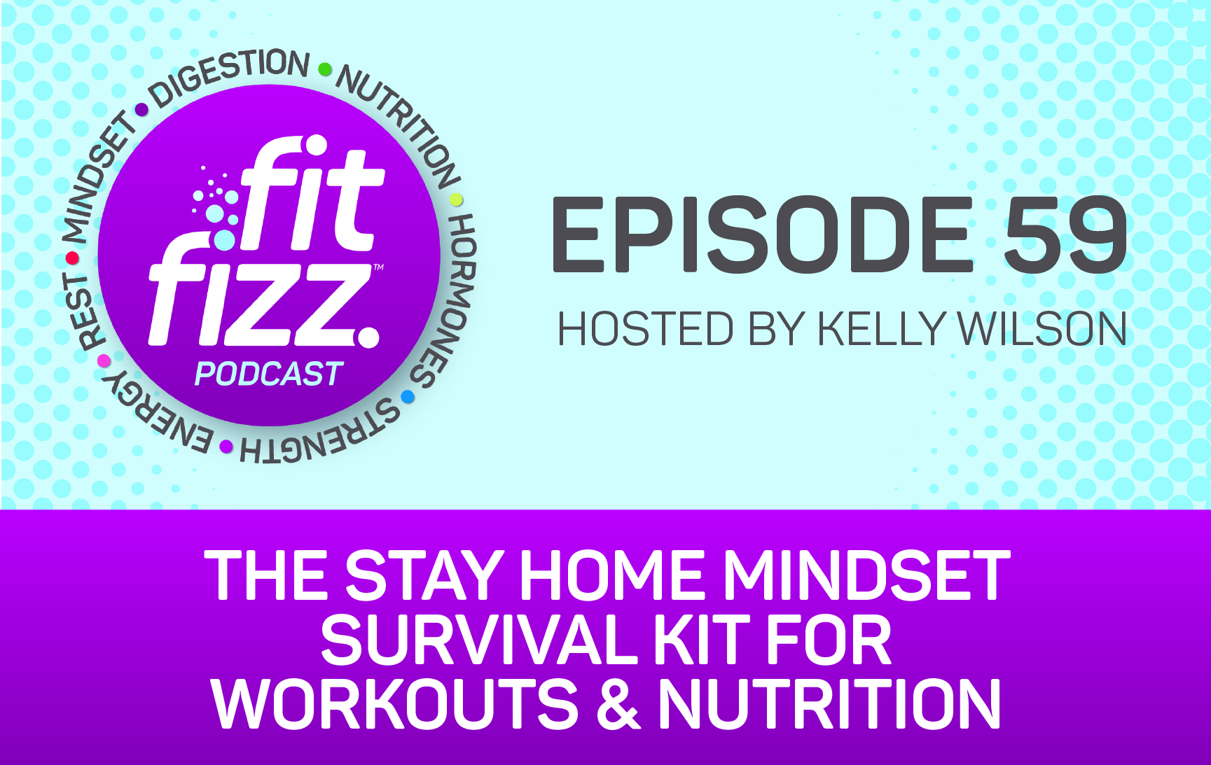 Ep. 59: The Stay Home Mindset Survival Kit for Workouts & Nutrition