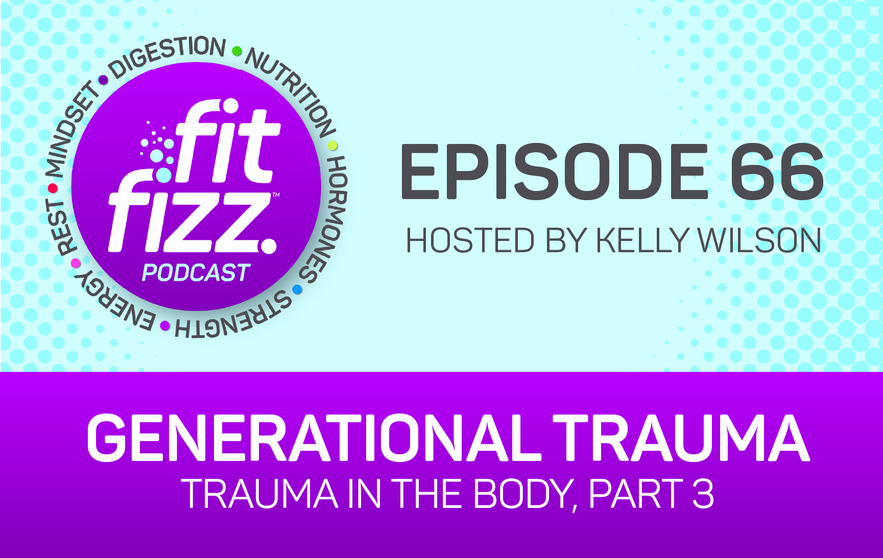 EP66: Generational Trauma and Health (Trauma in the Body Part 3)