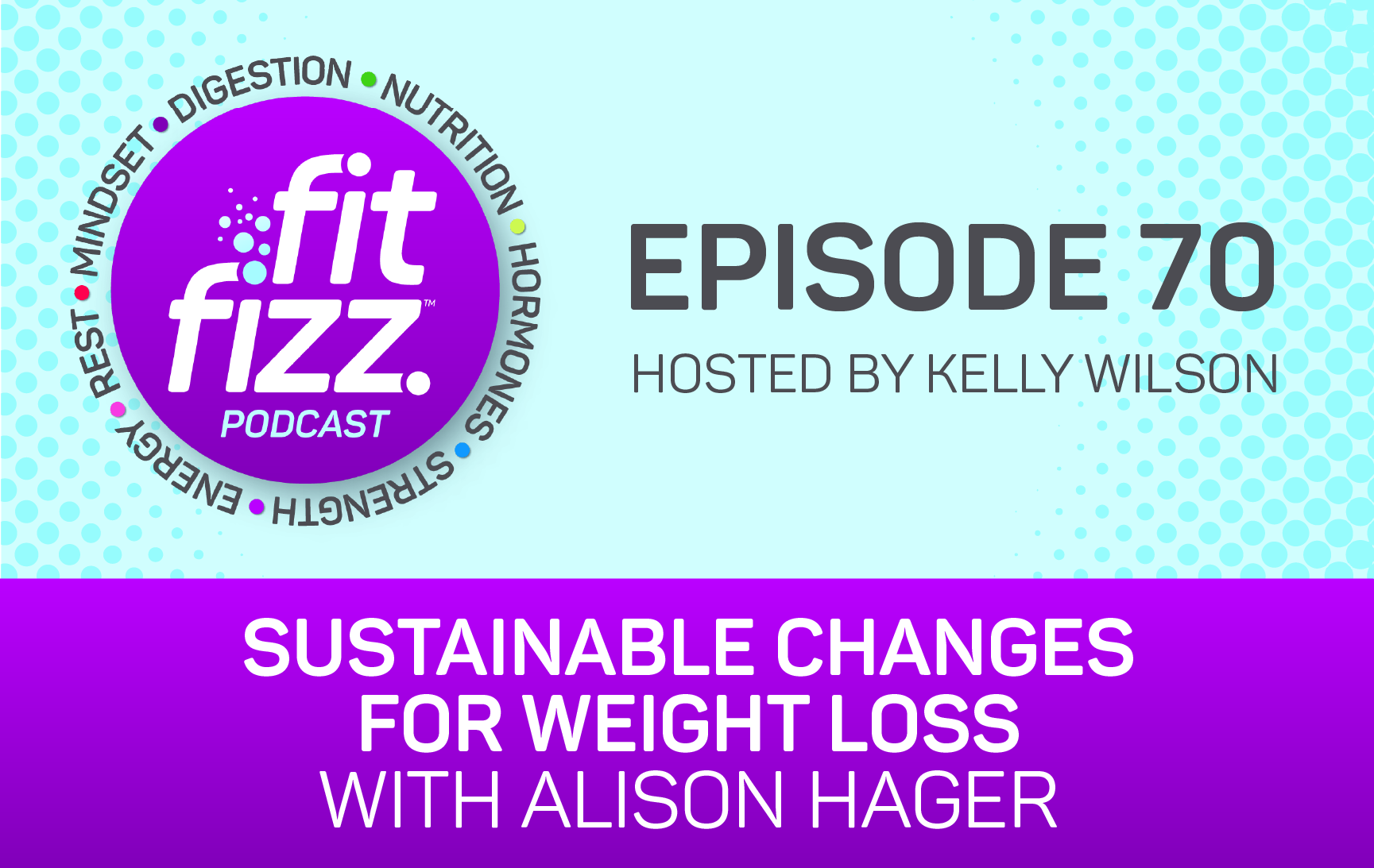 70: Sustainable Changes for Weight Loss with Alison Hager
