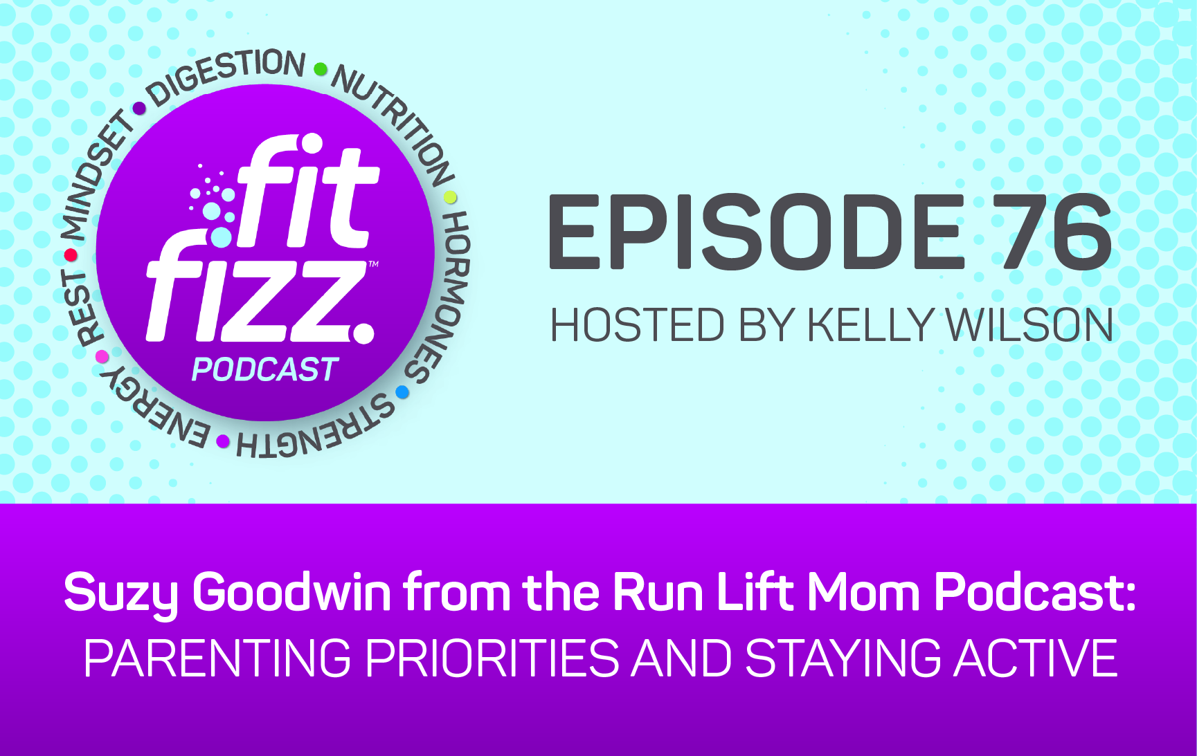 Ep. 76: Suzy Goodwin from the Run Lift Mom Podcast: Parenting Priorities and Staying Active